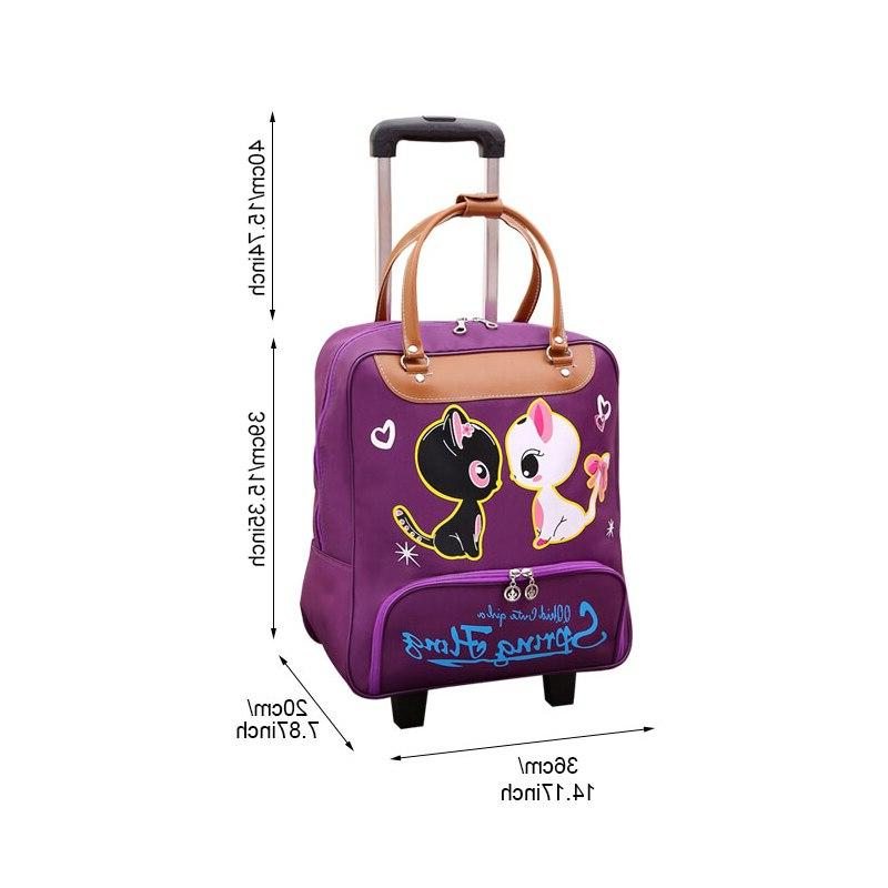 Waterproof Oapacity Suitcase Trolley Luggage Lady Men With Wheels