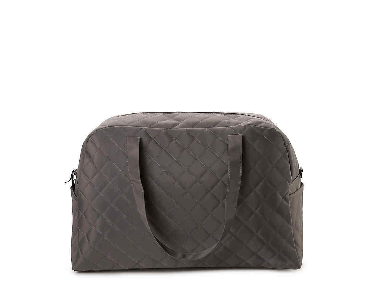 DSW WOMEN QUILTED TRAVEL BAG, LARGE BAG