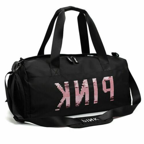 Women's Gym Sports Travel Bag Daypack Duffle Pack Shoulder B