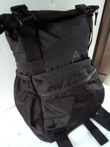 Adidas Yola Backpack,  Yoga Black /Black/Peach One Size NEW