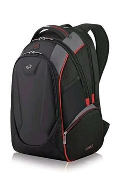 Solo Launch 17.3 Inch Laptop Backpack with Hardshell Front P
