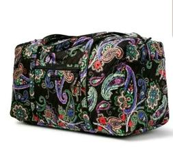 Vera Bradley Large Duffel Kiev Paisley travel weekend Bag l
