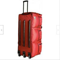 Rockland Luggage 40 Inch Rolling Duffle Bag, Red, X-Large, N