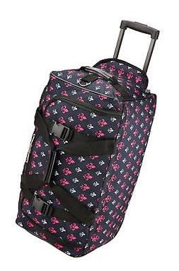 Rockland Luggage Rolling 22 Inch Duffle Bag, Icon, One Size