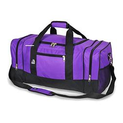 Everest Luggage Sporty Gear Bag,One Size,Purple