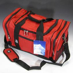 Everest Luggage Sporty Gear Bag, Red/Black, Red/Black, One S