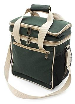Greenfield Collection 18L Luxury Lightweight Cool Bag - Fore d9d1f12dd1ff5