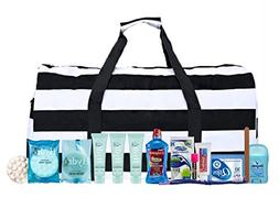 Maternity Hospital Labor Duffle Bag, Pre-packed Toiletry Bag