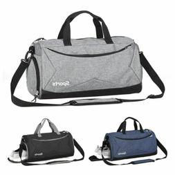 Men Gym Bag Fitness Duffle Women Travel Sports Luggage Carry