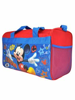 Mickey Mouse Hey Duffel Bag Sleep Over Travel Carry for Chil
