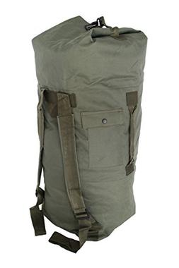 Military Army Style Double Strap Duffel Duffle Bag