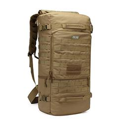 CRAZY ANTS Large Military Tactical Backpack Hiking Camping D
