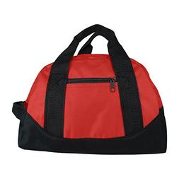 "12"" Mini Sport Travel Duffle Bag, Gym Bag, Carry-On"