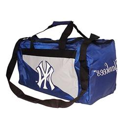 Forever Collectibles MLB NEW YORK YANKEES Blue Duffel Bag