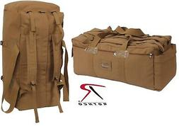 Rothco Mossad Tactical Duffle Bag, Coyote Brown