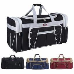 """New 26"""" Heavy Duty Tote Gym Sports Bag Duffle Travel Carry S"""