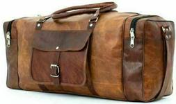 new 30 hand crafted genuine brown leather