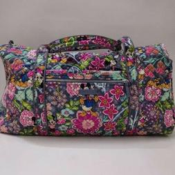 New Vera Bradley Iconic Large Travel Duffel Bag Disney Micke