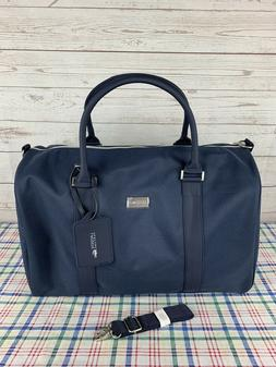 New Lacoste Parfums Blue Weekender Gym Sports Weekender Duff