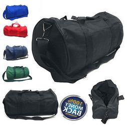 002cd1d59d94 NEW Polyester ROLL Duffle Duffel Bag Travel Gym Carry-On Spo