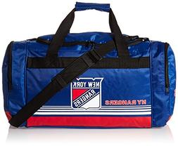 New York Rangers Medium Striped Core Duffle Bag