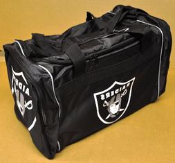 Forever Collectibles NFL Oakland Raiders Core Duffel Bag