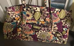 NWOT Vera Bradley Grand Weekender Travel bag Luggage Duffel