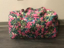 NWT! Vera Bradley Large Duffel Travel Bag Tropical Paradise