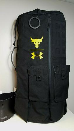 NWT Under Armour The Project Rock 90 Gym Duffle Big Bag UA B