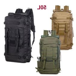 outdoor tactical backpack 50l duffel duffle military