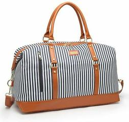 Overnight Bag for Women Canvas Weekend Travel Bag Ladies Duf