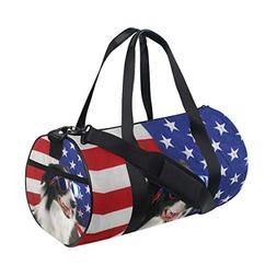 Packable Sports Gym Bag with Pockets Travel Fitness Duffel B