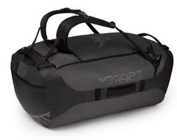 Osprey Packs Transporter 130 Expedition Duffel, Black, One S