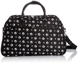 Paws 21 Carry-On Duffel, Black / White