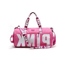 Women Victoria's PINK Travel Bags VS Beach Bag Portable Spor
