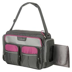 places spaces duffle diaper bag