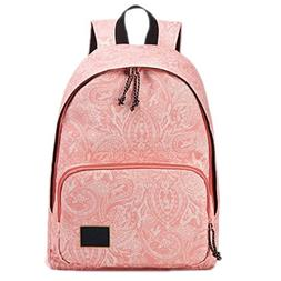 BAGGS Fashion Printing Backpacks Women Canvas School Backpac