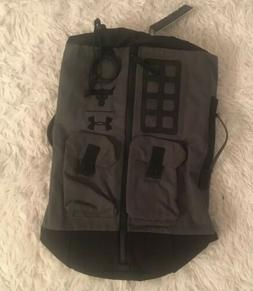 Under Armour Project Rock Duffle Bag Backpack Green Black UA
