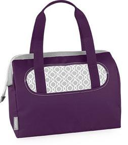 Thermos Raya Lunch Tote / Cambria 9 Can Duffle  Purple
