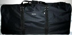 """RED 42"""" Square Cargo Sports Bag Duffel Travel Camping Huge D"""