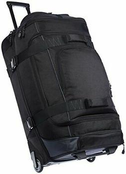 ripstop rolling travel luggage duffle bag
