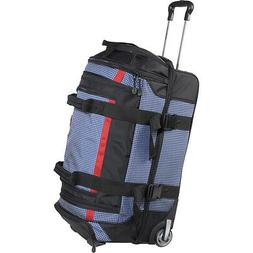"Samsonite Ripstop Wheeled Duffel Bag - 26"" - Blue Softside C"