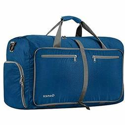 SALE 60L Foldable Travel Duffel Bag Water &amp Tear Resistan