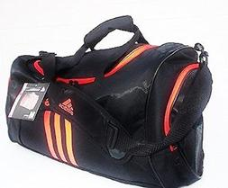 Adidas Scorer Medium Duffel Black/Orange 25""