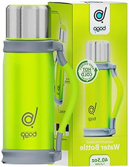 bago Insulated Water Bottle - Keep Drinks Hot/Cold for Hours