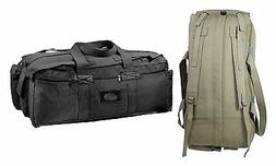 Tactical Duffle Bags - Mossad Style Canvas Gear Equipment Ba