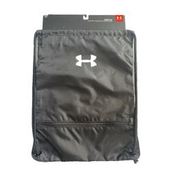 Under Armour Team Sackpack Bag,Black /White, One Size