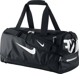 New Nike Team Training Max Air Small Duffel Bag Black/Black/