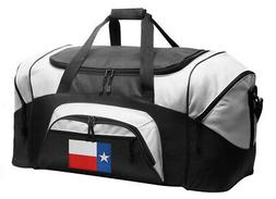 Texas Flag Duffle Gym Bag or Travel Duffel WELL MADE - LOADE