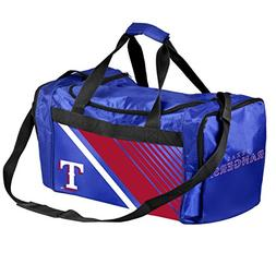 Texas Rangers Border Stripe Duffle Bag